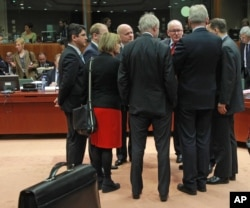 وزیران خارجه اتحادیه اروپا قبل از نشست در بروکسل درباره وضعیت کریمه