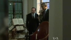 French President Visits With Obama At Jefferson's Monticello