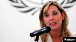 Gabriela Knaul alentó a quienes están luchan en Venezuela por mantener la independencia de jueces y fiscales.