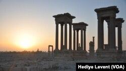 Mji wa kale wa Palmyra nchini Syria