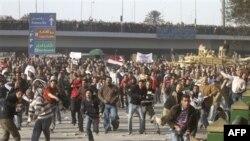 Mısırlılar Gösterilere Devam Etmekte Kararlı