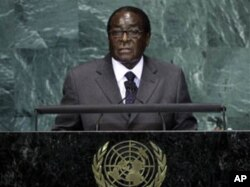 "Zimbabwean president Robert Mugabe, described in leaked cables as ""clever,"" ""ruthless,"" and ""a brilliant tactician."""