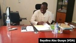 Ababacar Fall, Chef de la Division suivi exploitation à Dakar, 29 août 2018. (VOA/Seydina Aba Gueye)