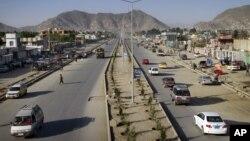 کابل کی ایک نئی شاہراہ دارلامن(فائل)