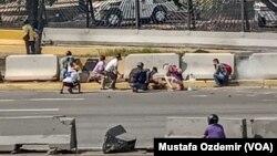 Зіткнення в Каракасі, Венесуела