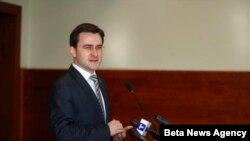 Nikola Selaković, ministar pravde Srbije (arhivski snimak)