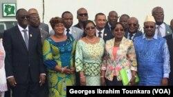 Le PDCI en ordre de bataille pour 2020, à Abidjan, en Côte d'Ivoire, le 21 avril 2017. (VOA/Georges Ibrahim Tounkara)