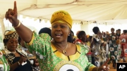 Oppah Muchinguri Minster of Women's Affairs