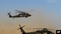 美國的黑鷹直升機