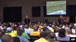 World Cup volunteers