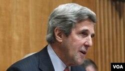El senador demócrata John Kerry lidera la Comisión de Relaciones Exteriores del Senado de EE.UU.