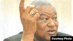 라이베리아의 베노니 우레이 차기 대통령 후보. (자료사진)
