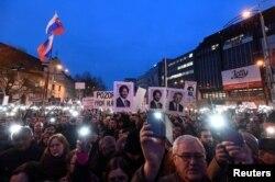 Slovakiyada etiraz