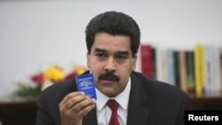 """""""Siempre somos optimistas en el sentido de que más temprano que tarde vamos a tener al presiente aquí con nosotros"""", insistió Maduro."""