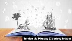 Sebuah buku komik anak sebagai ilustrasi. (Foto: Tumisu via Pixabay)