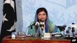 وزیر مملکت برائے امور خارجہ حنا ربانی کھر
