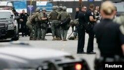 Policija na kampusu koledža Santa Monika