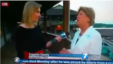 Still image grab from WDBJ-TV's video, shortly before reporter Alison Parker and videographer Adam Ward were fatally wounded by a gunman during a live on-air broadcast near Roanoke, Virginia, Aug. 26, 2015.