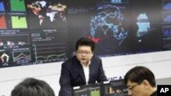 한국인터넷진흥원(KISA) 내 인터넷침해대응센터 종합상황실
