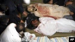 敘利亞抗議者被射殺。