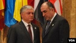 Elmar Məmmədyarov və Eduard Nalbandyan