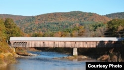 One of Vermont's many covered bridges