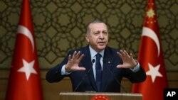 Cumhurbaşkanı Erdoğan partisinin genişletilmiş il başkanları toplantısında konuştu.