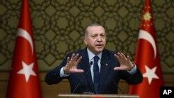 R.T. Erdogan serokê Tirkiyê