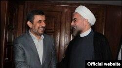 حسن روحانی و محمود احمدینژاد