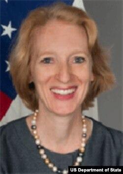 美国国务院公共外交副助卿苏珊•史蒂文森(国务院官方照片)
