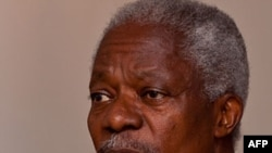 Cựu tổng thư ký Liên Hiệp Quốc Kofi Annan được cử làm đặc sứ chung của Liên đoàn Ả Rập và Liên Hiệp Quốc đặc trách về cuộc khủng hoảng ở Syria.