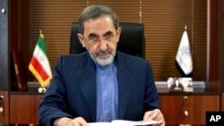 علی اکبر ولایتی وزیر امور خارجه اسبق و مشاور کنونی رهبر جمهوری اسلامی ایران در امور بین الملل