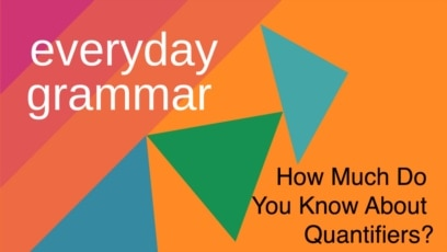 Everyday Grammar - Articles