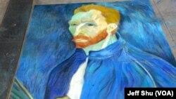 Van Gogh 最佳翻版大師作品獎(美國之音國符拍攝)