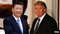 US President Trump and General Secretary of the Communist Party of China Xi JinPingg