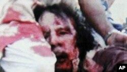 利比亞全國過渡委員會快將宣佈卡扎菲已死的消息