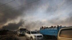 Des milliers de civils fuient l'Offensive turque contre les kurdes en Syrie