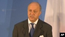 لوران فابیوس وزیر خارجۀ فرانسه
