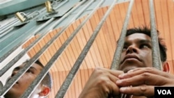 Suasana salah satu penjara di Indonesia (Foto: dok).