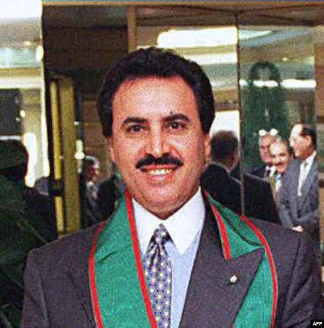 Former Qatar Ambassador to the U.N., Sheikh Nasser bin Hamad Al Khalifa in New York (1996 file photo)