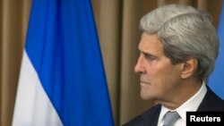 « Les mots manquent pour exprimer adéquatement nos condoléances au peuple palestinien », a déclaré le secrétaire d'Etat John Kerry (Photo Reuters)
