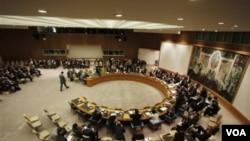 Suasana rapat Dewan Keamanan PBB (Foto: dok).