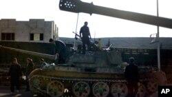 Сирия. Правительственные воиска.