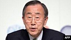 BM Genel Sekreteri Kıbrıslı Liderlerle Konuştu