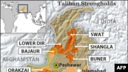 Phiến quân giết 7 binh sĩ ở Tây Bắc Pakistan