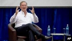 互聯網巨頭谷歌公司的執行主席、前首席執行官埃里克‧施密特