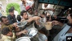 'پاکستان کی 60 فیصد آبادی خوراک کی کمی کا شکار'