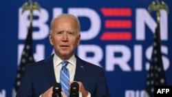 ဒီမိုကရက္တစ္ သမၼတေလာင္း Joe Biden။ (ႏိုဝင္ဘာ ၀၄၊ ၂၀၂၀)