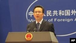 中國外交部發言人洪磊。
