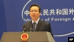 Phát ngôn viên Bộ ngoại giao Trung Quốc Hồng Lỗi